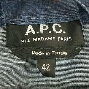 A.P.C. Dresses - A. P. C. - Denim Shift Dress XL